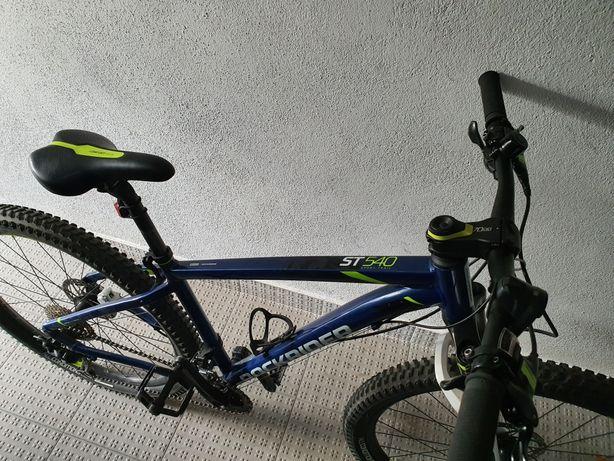 Bicicleta rockrider 540 + extras