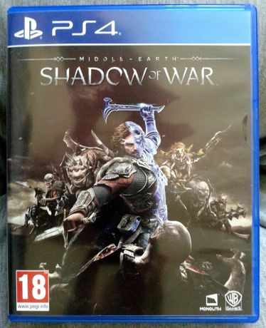 Shadow Of War Cien Wojny PL. - PS4