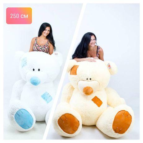 Плюшевый мишка, большой мишка, огромный медведь, ведмедик, мишка Киев
