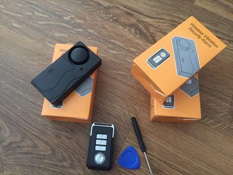 Alarme a pilhas novo, com sensor impacto
