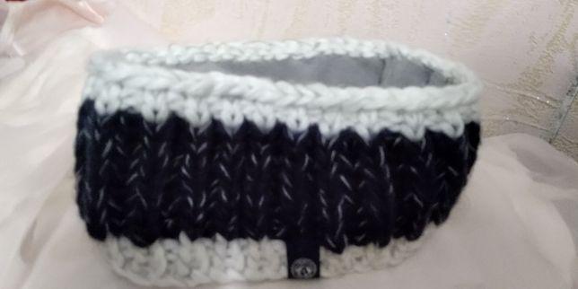 Тёплая повязка на голову TOG24