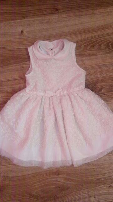 Sukienka biala koronkowa 92