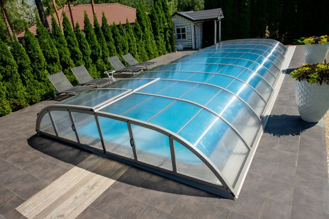 Zadaszenia basenowe, zadaszenie do basenu ogrodowego MONTAŻ Bucovers