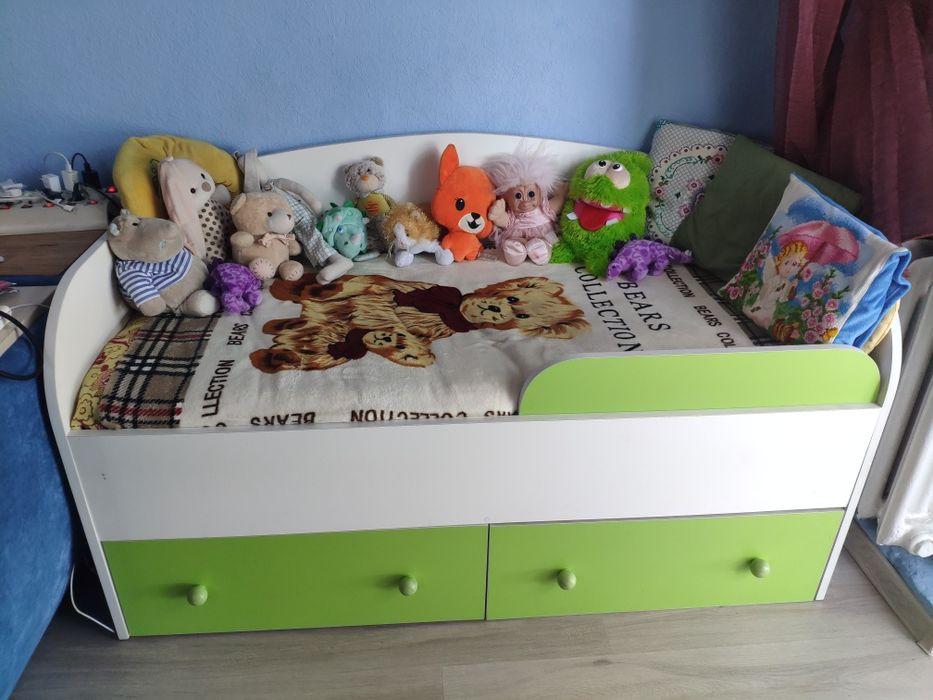 Кроватка детская подростковая кровать фирменная с матрасом комфор Come Киев - изображение 1