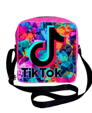Барсетка, сумка для сменки Tik Tok Тик Ток - Отлично для школы!