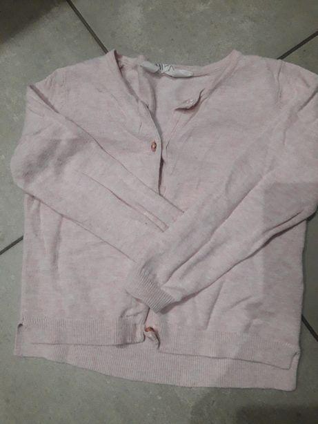 Różowy sweterek h&m 98/104