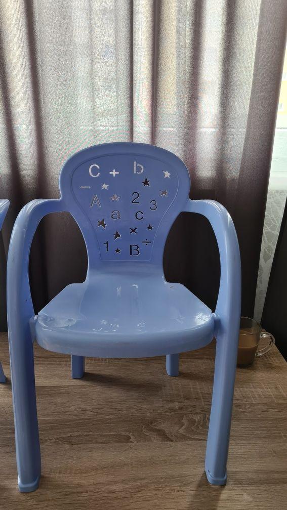 Krzesełko plastikowe