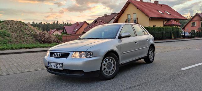 Audi a3 8L, 1.6, Klima, Zadbana, Doinwestowana! 5 Drzwi!