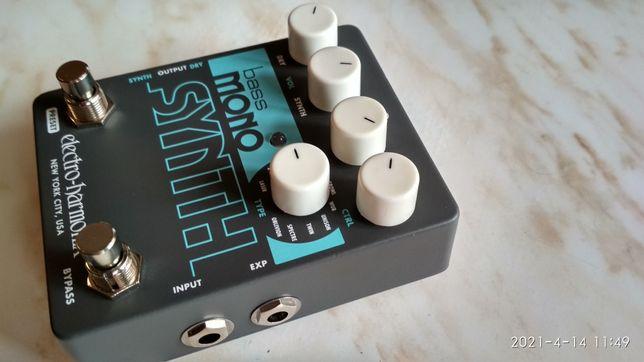 Продается педаль Electro-harmonix bass sinthesizer