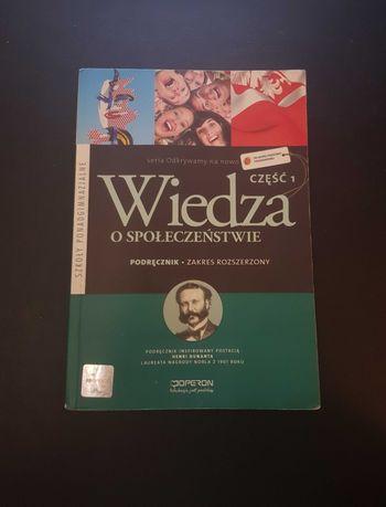 Wiedza o społeczeństwie cz. I zakres rozszerzony