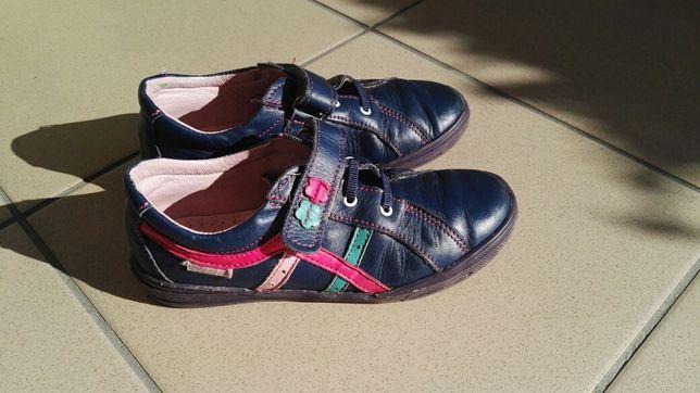 Buty skórzane MAZUREK r. 33