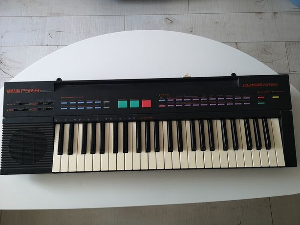 Yamaha PSR-8 klawisze