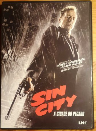 "DVD ""Sin City - A Cidade do Pecado"""