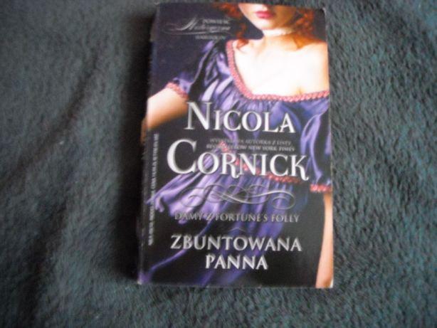 """Nicola Cornick romans historyczny """"Zbuntowana Panna"""""""