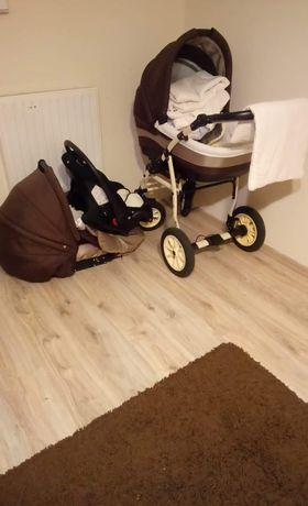 Wózek dziecięcy 3w1.