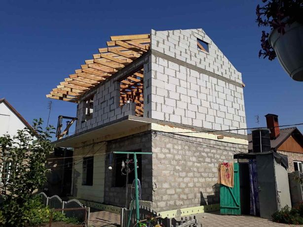 Строительство домов,коттеджей,бетонирование,кладка,кровля,ремонт.