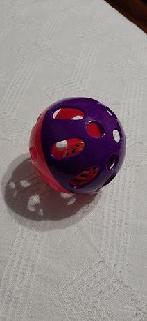 Nowa zabawka dla kota dla psa kulka z piłeczką z dzwonkiem