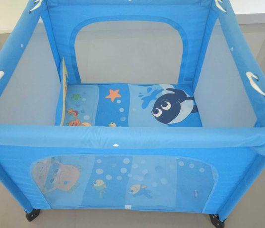 Parque Chicco de Bebé-criança azul