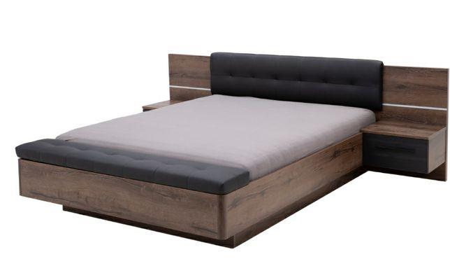 Łóżko RECOVER z szafkami i ławą
