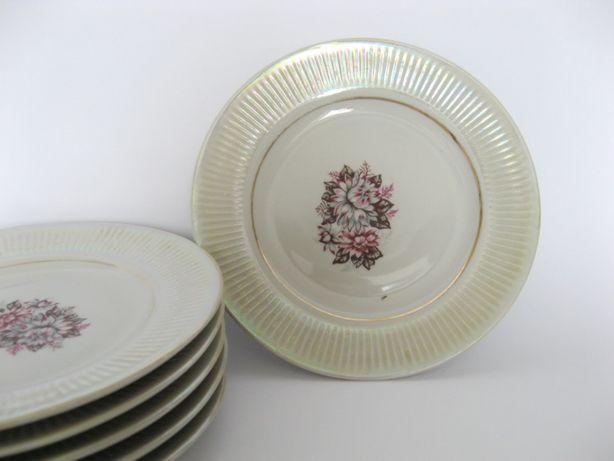 Тарелки десертные мелкие 6 шт Барановка СССР