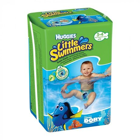 Подгузники-трусики Huggies Little Swimmers Размер 3-4 (7-15 кг) 8 шт