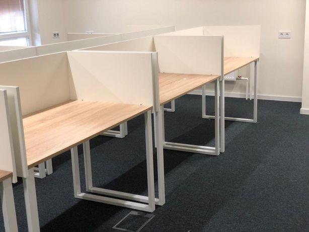 ЛОФТ столы 80 шт! офисные контакт центр компьютерные трансформер перег