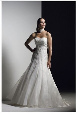 Suknia ślubna kształt litera A Sweetheart 5886 S/36