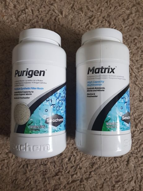 Matrix seachem, purigen seachem