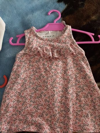 Sukienka niemowlęca Name it rozmiar 56