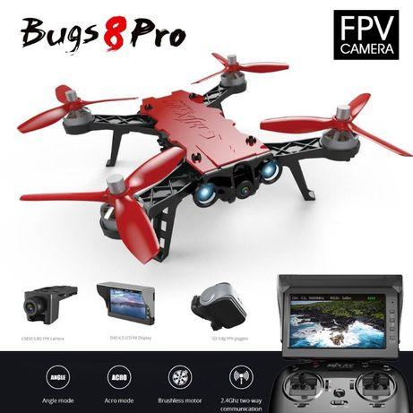 Квадрокоптер MJX Bugs 8 PRO с FPV камера монитор очки MAX комплектация