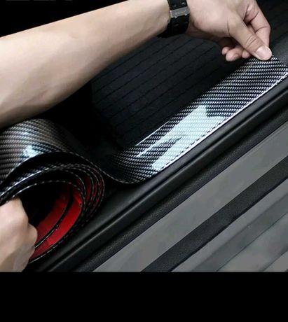 Adesivo carbono 5D