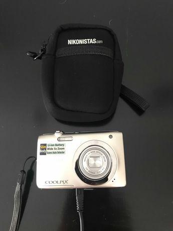 Máquina Fotográfica Compacta NIKON Coolpix A100  (Zoom Ótico: 5x)