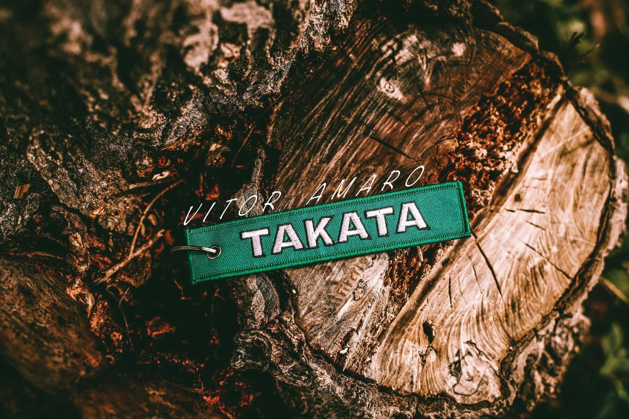 Porta Chaves Takata (Go For Green)   NOVO