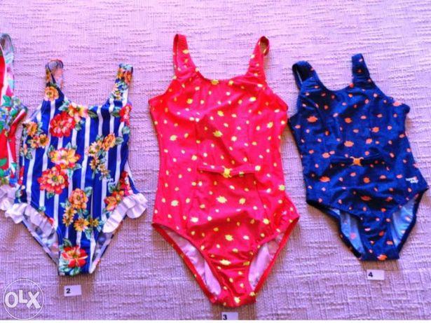 Fatos de banho e bikinis para criança e jovens