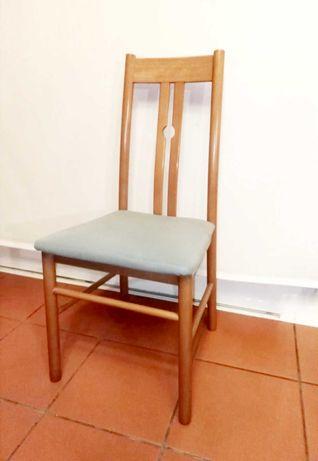 conjunto de cadeiras de cerejeira