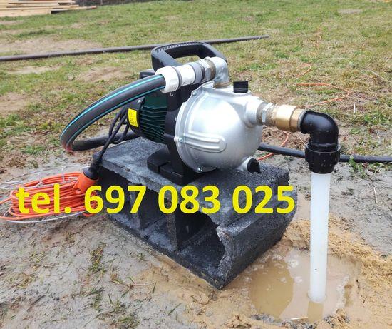 Woda za Woda za darmo - studnia montaż szpilki wodnej - filtr Studzien