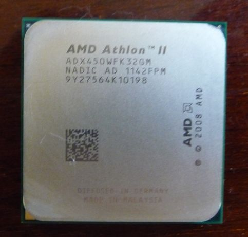 Процессор 4 ядра AMD Phenom II x4 B50 (разлочAMD Athlon II X3 450 3,2)