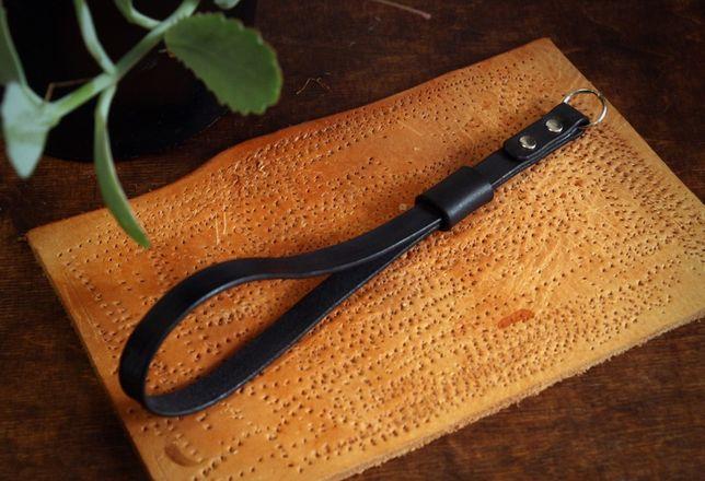 Leather Company pasek do aparatu skórzany, 100% skóra bydlęca
