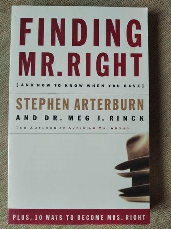 Finding Mr. Right Stephen Arterburn książka po angielsku