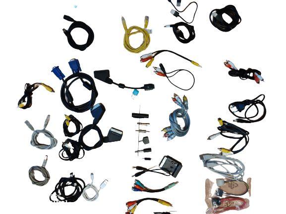 kable sprzętowe stare i nowe