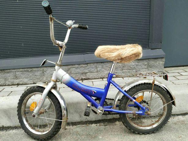 Детский велосипед Салют на 4-5,5 лет