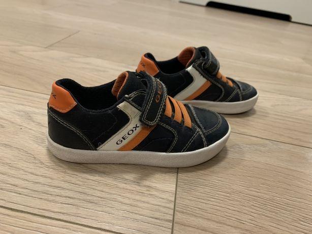 Geox respira trampki skórzane sneakersy 26
