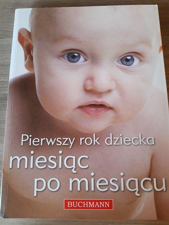 Książka Pierwszy rok dziecka, miesiąc po miesiącu
