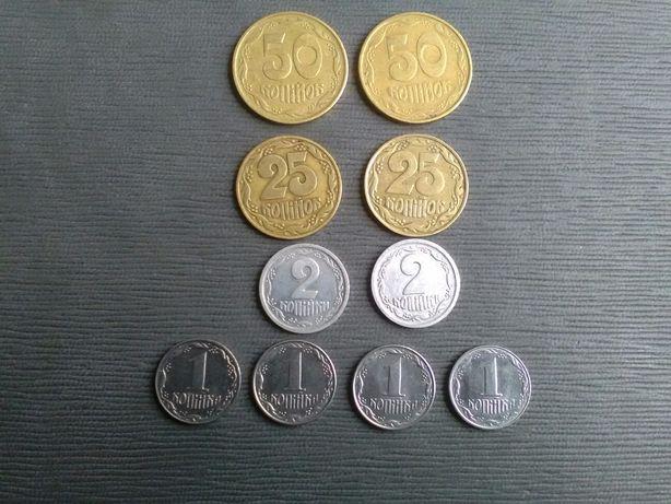 Ранние монеты Украина.