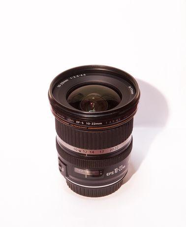 Objectiva Canon 10-22mm