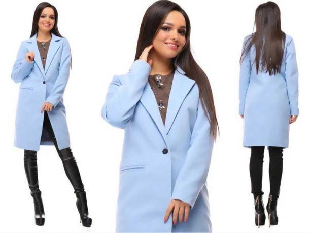 Стильное классическое кашемировое пальто