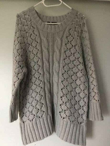 Sweter szary r.44