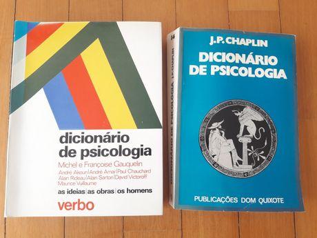 Dicionários de Psicologia