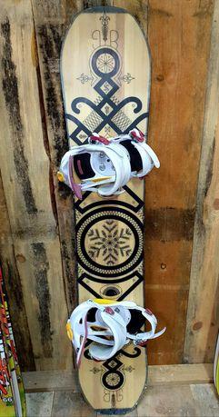 Deska snowboardowa BigOSnowboards BIG L 144 cm