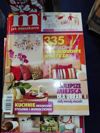 M jak mieszkanie czasopismo o wnętrzach 19 numerów
